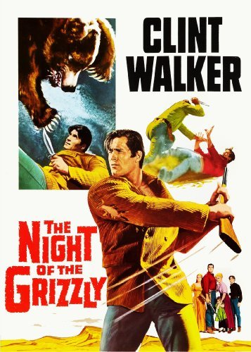 Night Of The Grizzly (1966) Walker Hyer Wynn Ws Nr