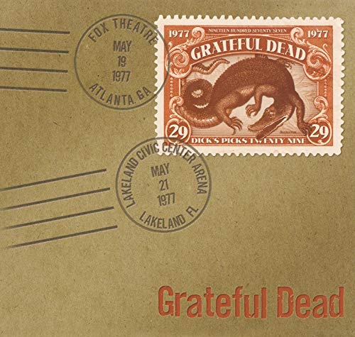 Grateful Dead Dick's Picks Vol. 29 5 19 77 F 6 CD