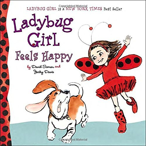 David Soman Ladybug Girl Feels Happy