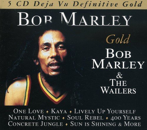 Bob & The Wailers Marley Gold 5 CD
