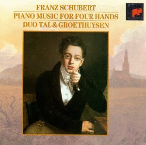 F. Schubert Vol. 2 Piano Music For Four Ha