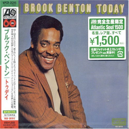 Brook Benton Today Rainy Night In Georgia Import Jpn Lmtd Ed.