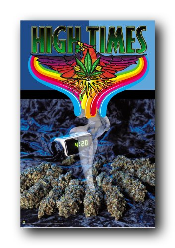 Poster High Times 4 20