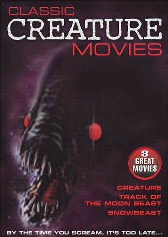 Creature Track Of The Moon Bea Classic Creature Movies Clr Nr