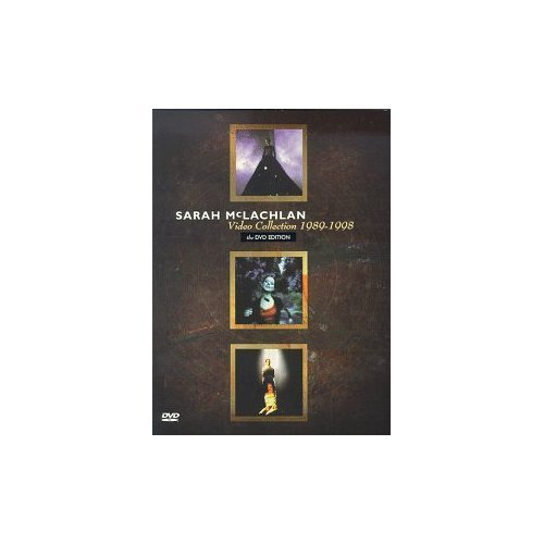 Sarah Mclachlan 1989 98 Video Collection Import Can Snap 1989 98 Video Collection