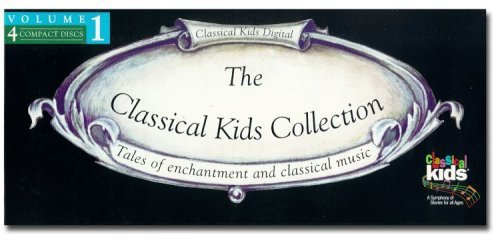 Classical Kids Collection 4 CD 4 Cass Set Classical Kids