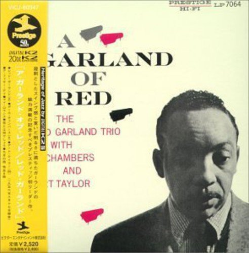 Red Garland Garland Of Red Import Jpn Jpn Lp Sleeve
