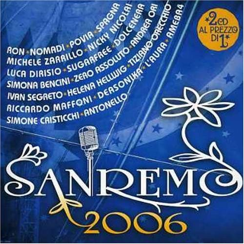 Sanremo 2006 Sanremo 2006 Import Eu 2 CD Set