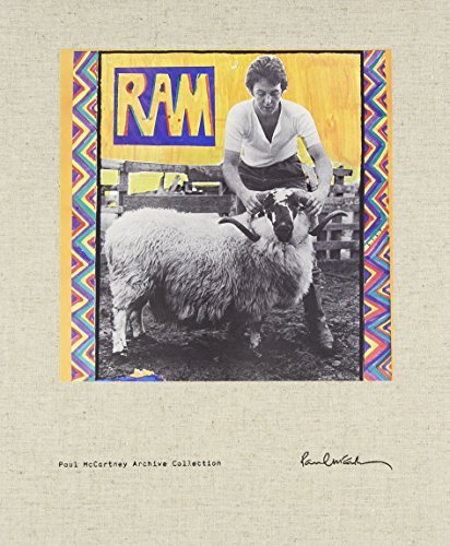 Paul & Linda Mccartney Ram Deluxe Book Box Set (4cd 1 Made On Demand 4 CD Incl. DVD