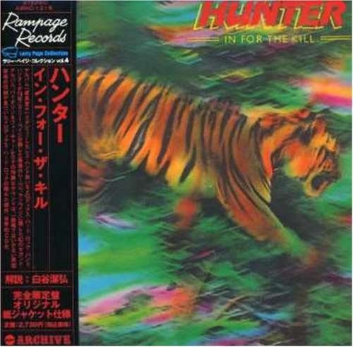 Hunter In For The Kill (mini Lp Sleev Import Jpn Lmtd Ed. Paper Sleeve