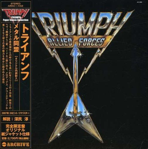Triumph Allied Forces (mini Lp Sleeve) Import Jpn Lmtd Ed. Paper Sleeve