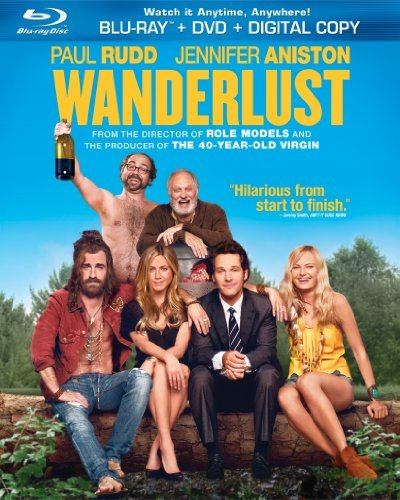 Wanderlust Rudd Aniston Blu Ray Ws R Incl. DVD