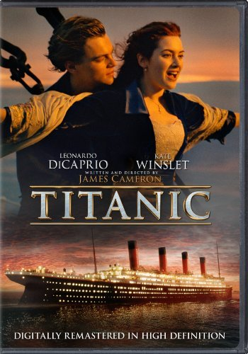 Titanic (1997) (2012 Version) Dicaprio Winslet 2012 Version Pg13 Incl. Uv