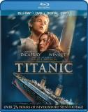Titanic (1997) Dicaprio Winslet Blu Ray DVD Dc Pg13