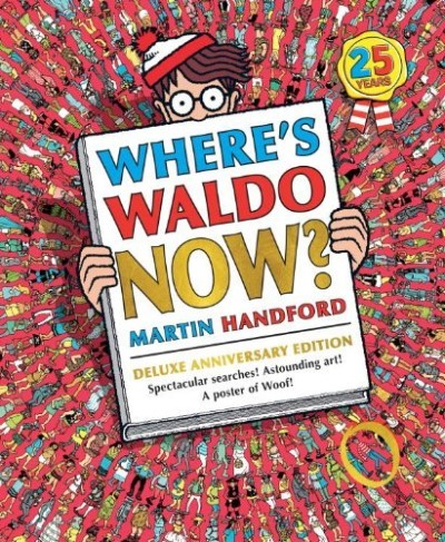 Martin Handford Where's Waldo Now? 0025 Edition;anniversary De