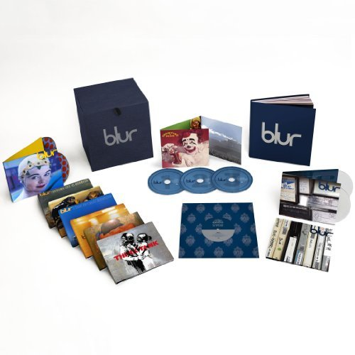 Blur Blur 21 Box Set 18 CD 3 DVD Book
