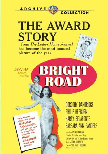 Bright Road (1953) Dandridge Hepburn Belafonte DVD Mod This Item Is Made On Demand Could Take 2 3 Weeks For Delivery