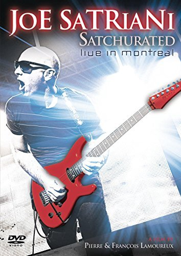 Joe Satriani Satchurated Live In Montreal 2 DVD