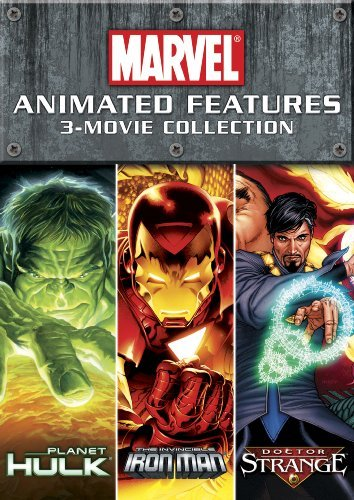 New Marvel Animated 3 Movie Collection New Marvel Animated 3 Movie Collection Pg13 2 DVD