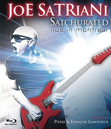 Joe Satriani Satchurated Live In Montreal Blu Ray