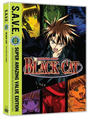 Black Cat Box Set S.A.V.E. Black Cat Tvpg 4 DVD