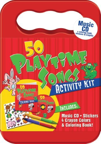St. John's Children Choir 50 Bible Songs CD Activity Kit (packaged In Carryi