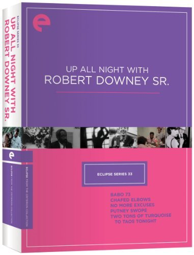 Up All Night With Robert Downey Jr. Eclipse Series 33 Ws Clr Bw Nr 2 DVD Criterion Collection