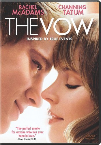The Vow Mcadams Tatum DVD Pg13 Ws