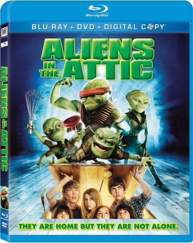 Aliens In The Attic Tisdale Richter Nealon Meadows Blu Ray Ws Pg Incl. Digital Copy