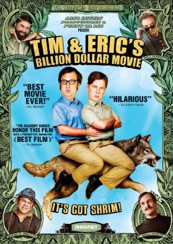 Tim & Eric's Billion Dollar Movie Heidecker Wareheim DVD R