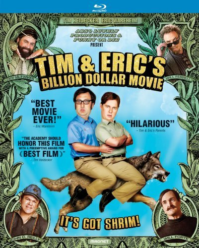 Tim & Eric's Billion Dollar Movie Heidecker Wareheim Blu Ray R