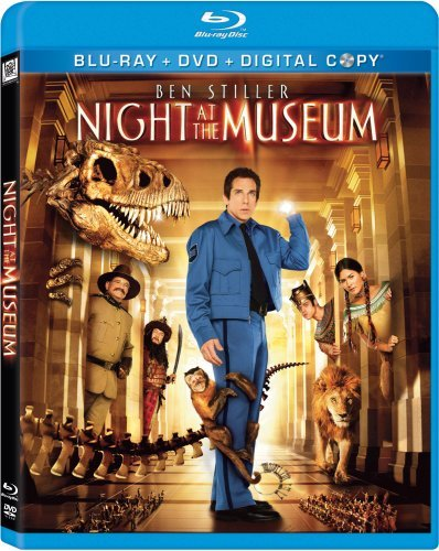Night At The Museum Night At The Museum Blu Ray Ws Pg Incl. DVD Dc