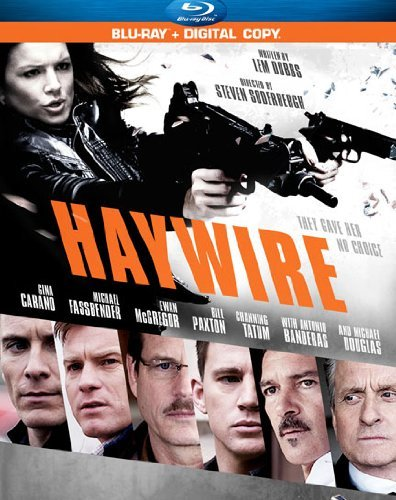 Haywire Carano Fassbender Mcgrgor Blu Ray Ws R Incl. Dc