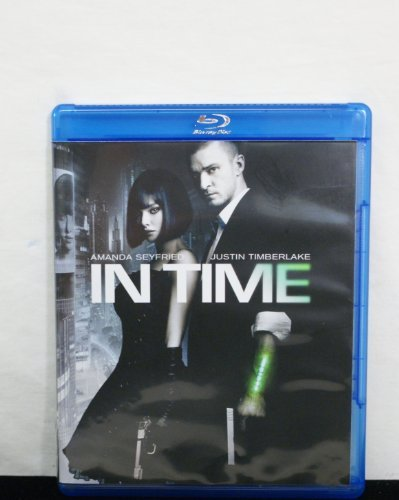 In Time Timberlake Seyfried Murphy Blu Ray