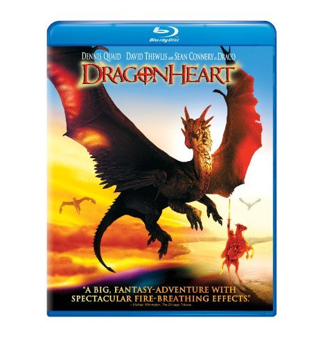 Dragonheart Quaid Thewlis Connery Blu Ray Ws Pg13