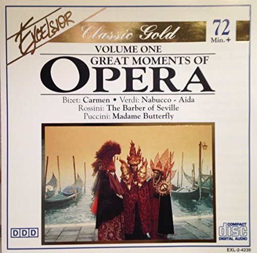 Great Moments Of Opera Vol. 1 Great Moments Of Opera