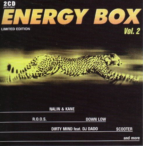 Energy Box Vol. 2 Energy Box 2 CD Set Energy Box