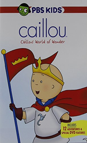 Caillou Caillou's World Of Wonder DVD Nr