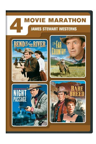 4 Movie Marathon James Stewar Stewart James Ws Fs Nr 2 DVD
