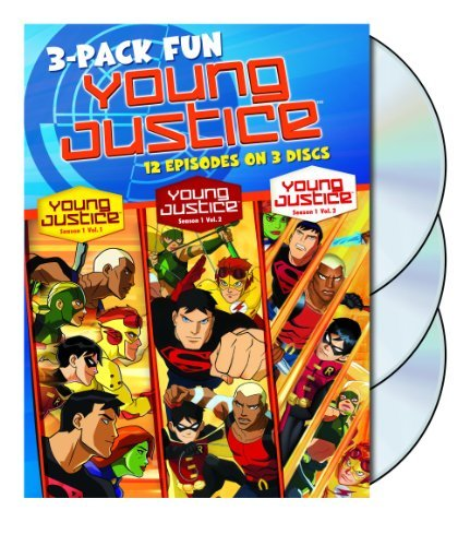 Young Justice Young Justice 3 Pack Of Fun Nr 3 DVD