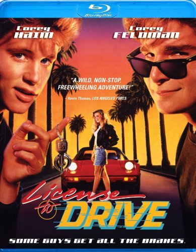 License To Drive Feldman Haim Graham Blu Ray Ws Pg13