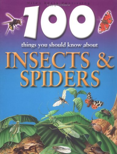 Steve Parker 100 Things You Should Know About Insects And Spide