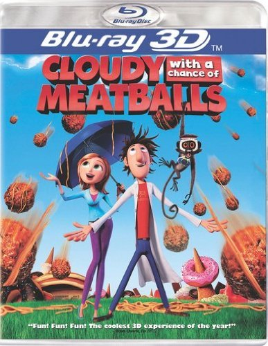 Cloudy With A Chance Of Meatba Cloudy With A Chance Of Meatba Ws Blu Ray 3dtv Pg