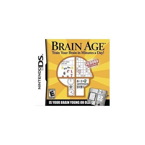 Nintendo Ds Brain Age Train Your Brain In Minutes A Day!