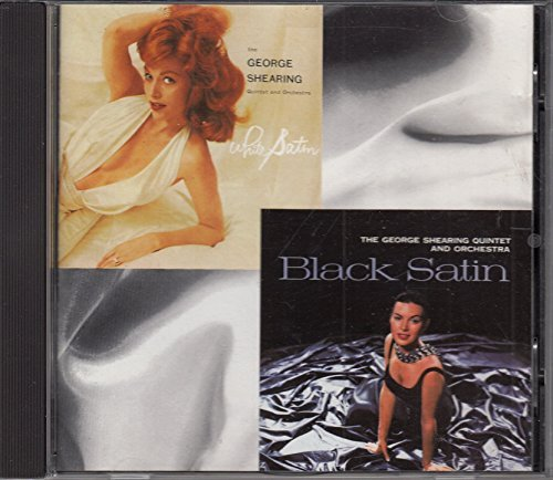 George Shearing White Satin & Black Satin