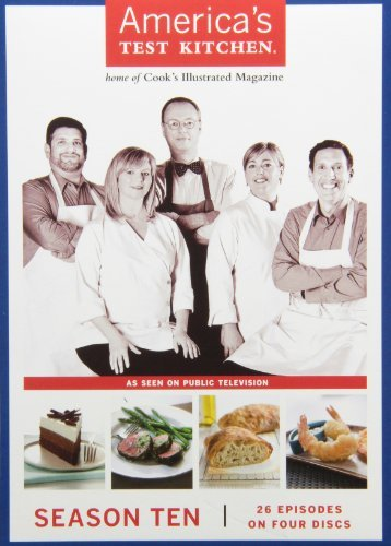 America's Test Kitchen America's Test Kitchen Season Season 10 Nr 4 DVD