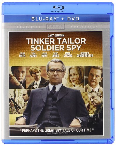 Tinker Tailor Soldier Spy Oldman Firth Hardy Hurt R Incl. DVD Dc Uv