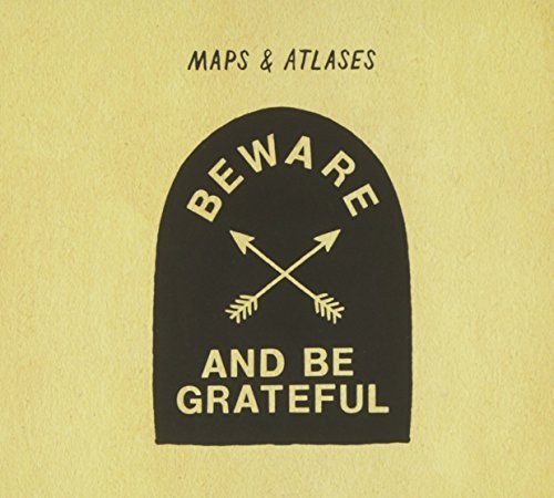 Maps & Atlases Beware & Be Grateful CD Wallet