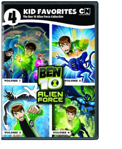 Ben 10 Alien Force 4 Kid Favorites DVD Nr