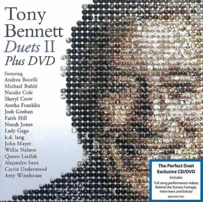 Tony Bennett Duets Ii CD DVD (the Great Performances)